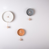 Totide' Wall Clock | Orange